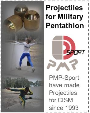 PMP-Sports: Projectiles for Military Pentathlon